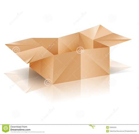 Origami Paper Container - origami paper box stock vector image of concept