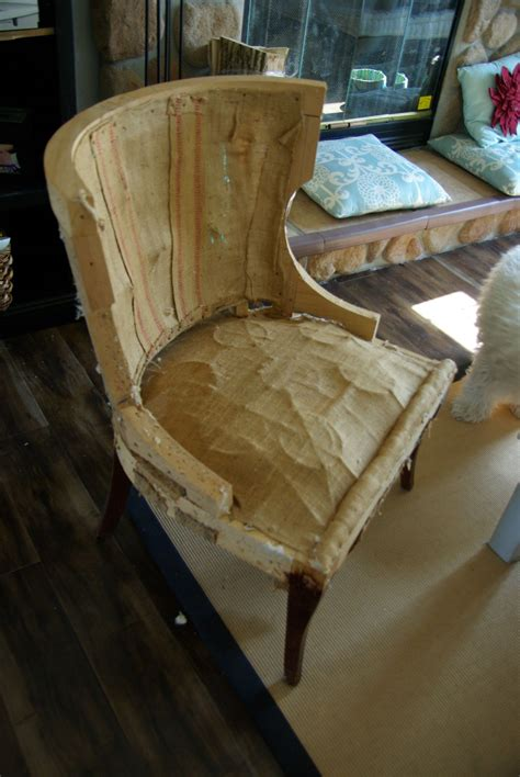 reupholstering a couch tutorial no sew full reupholster chair