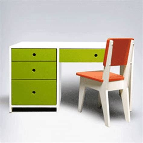 and green children desk by ducduc desk
