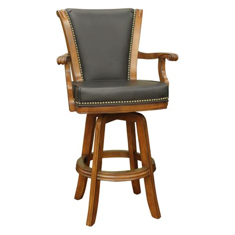 Bar Stools With Arms by Ahb Napoli 30 In Swivel Bar Stool With Arms At Hayneedle