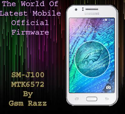 samsung j100 reset samsung clone sm j100 mt 6572 official firmware flash file