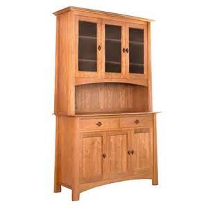 Hardwood Sideboard Cherry Moon China Cabinet And Sideboard 51 Solid Wood