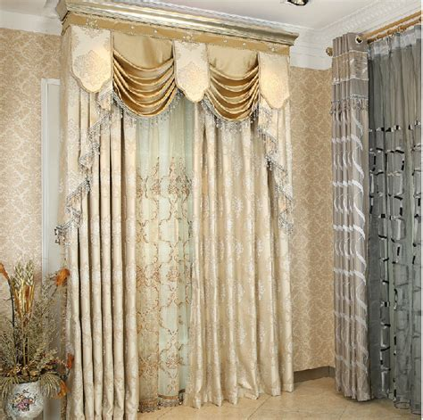 bulk curtains factory wholesale european high end living room bedroom
