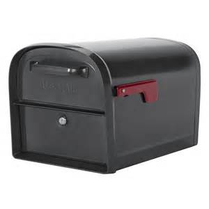 Home Hardware Decor shop architectural mailboxes oasis locking mailbox 11 2 in