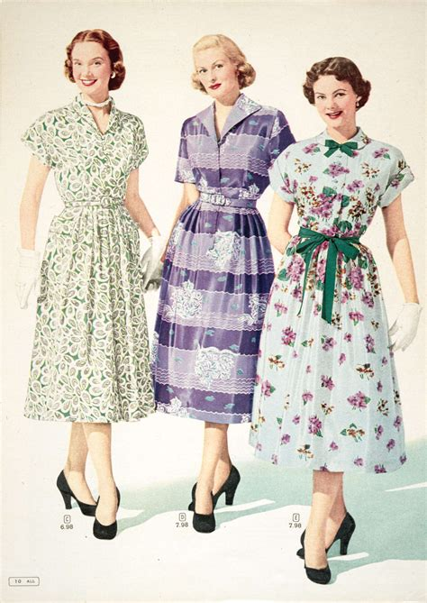 10 Vintage Styles For Sping by Fashion From The S And Summer