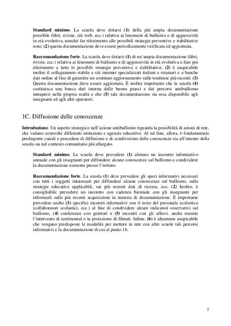 testo argomentativo bullismo linee guida friuli bullismo