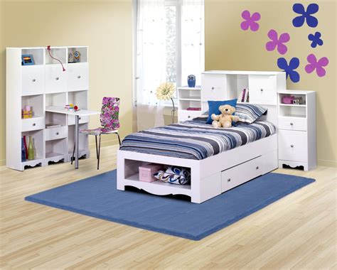 kids storage bedroom sets twin bed frame with storage decofurnish