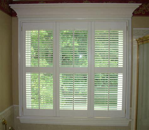 beautiful interior window shutters  adorn  room
