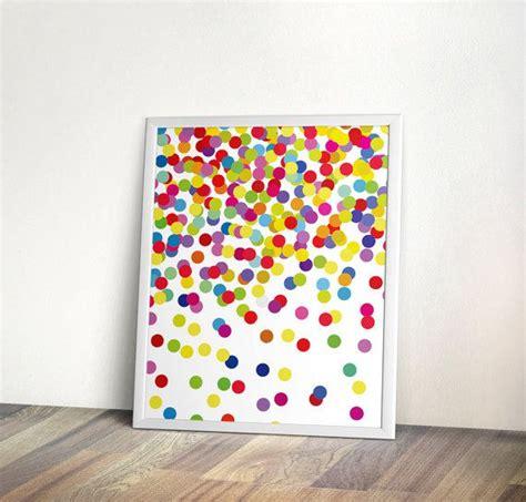 konfetti kindergarten wandkunst sofortiger - Wand Kunst Für Schlafzimmer