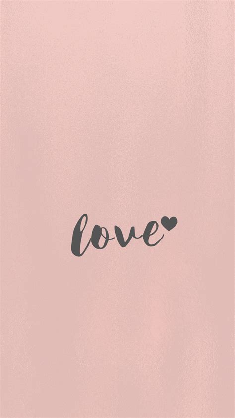 wallpaper rose gold love wallpaper iphone 6s android samsung minimal