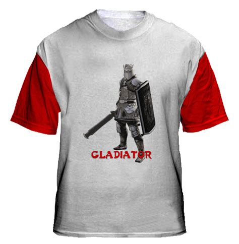 Tshirt Kaos Slaves gladiator collections t shirts design
