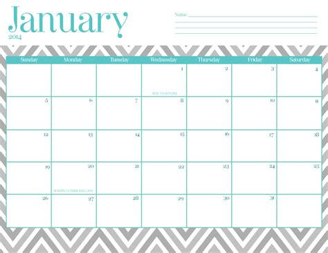 pretty calendar template printable january 2015 calendar