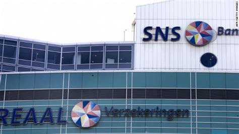 sns bank niederlande netherlands nationalizes sns reaal cnn