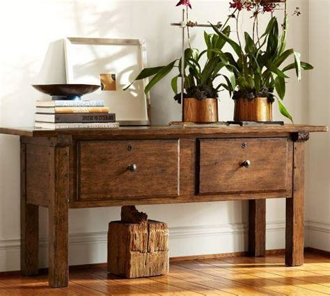 Sawyer Console Table Pottery Barn Sofa Table Pottery Barn