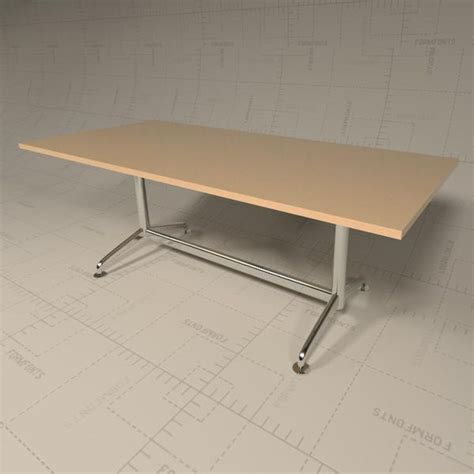 Revit Conference Table Fina Conference Table 3d Model Formfonts 3d Models Textures