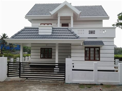 law badget house architecture low budget luxury villa in road side for sale in angamaly near town kochi kerala