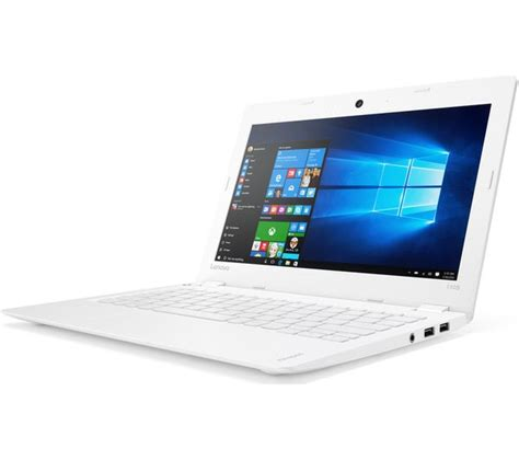 Laptop Lenovo Ideapad 110 141sk buy lenovo ideapad 110s 11ibr 11 6 quot laptop white free delivery currys