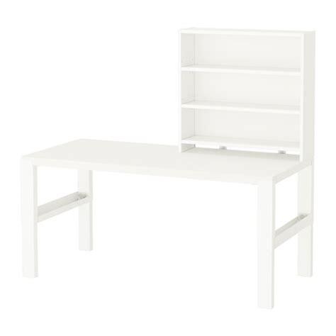p 197 hl desk with shelf unit white ikea