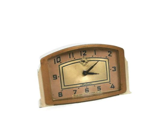 Reserved for MJ Vintage 1940's LUX Clock Mfg. Co.