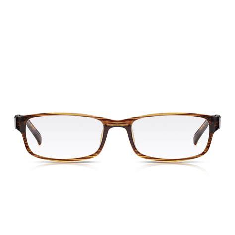 buy read optics mens and womens brown wood grain