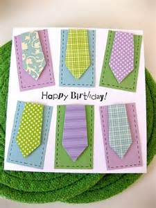 birthday card ideas for neckties birthday card - Card Ideas For Mens Birthday