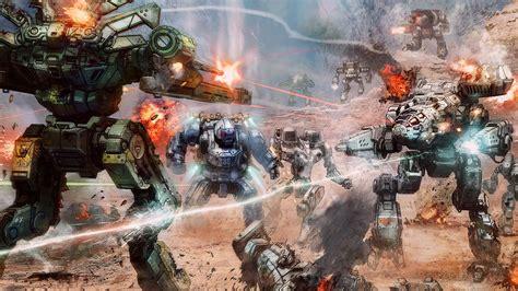 battletech wallpapers  ultra hd  gameranx