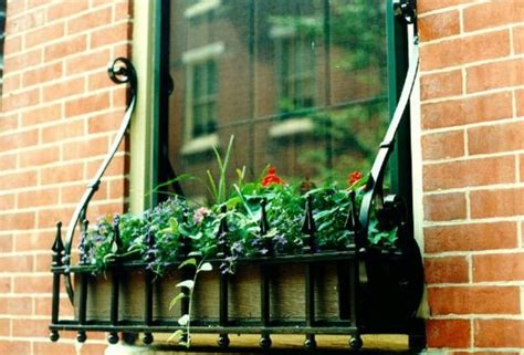 rod iron window boxes white wrought iron window boxes aesthetic appeal of