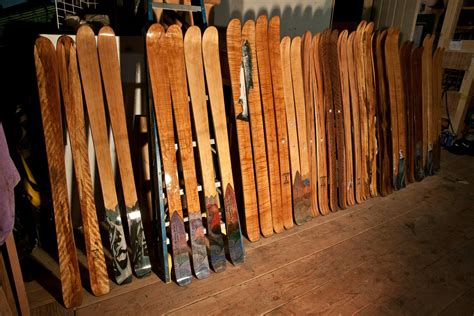 Handmade Skis - your own equipment outdoor explorer podcast