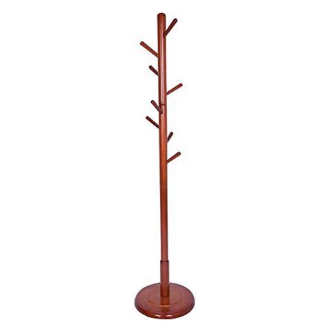 Floor Standing Coat Stand by Js Home Wooden Coat Rack Floor Standing 8 Hooks Wood Tree