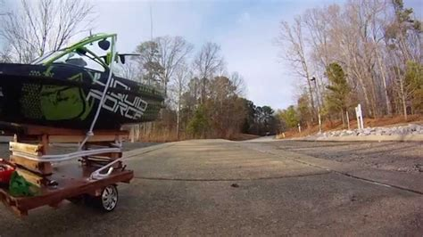 boat launch r rc boat launch fail youtube
