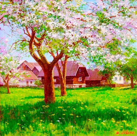 imagenes de paisajes sencillos para pintar im 225 genes arte pinturas paisajes para pintar cuadros
