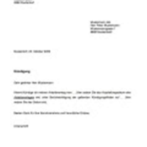 Musterbrief Ausserterminliche Kündigung Wohnung K 252 Ndigung Wohnung Mietvertrag Vorlage Muster Und Vorlagen Kostenlos