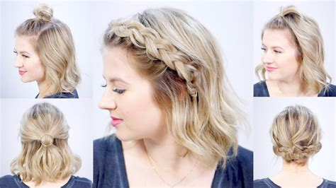 Easy Hairstyles For by Five 1 Minute Easy Hairstyles Milabu