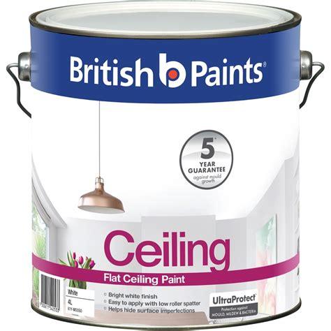 Flat White Ceiling Paint by Paints 4l Flat White Ceiling Paint Bunnings
