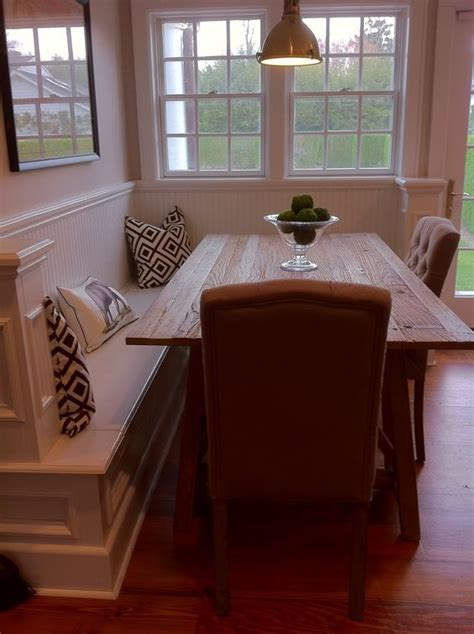 Built In Kitchen Table by Corner Bench With Dining Table This Could Be As A