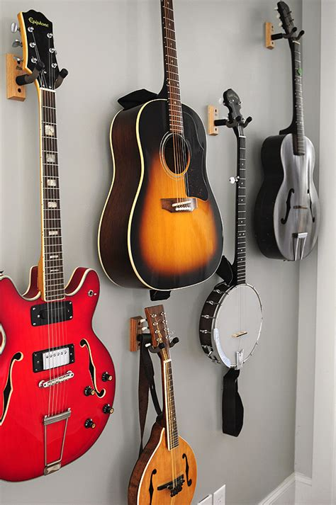 Master Bedroom Color Ideas 2013 guitar wall