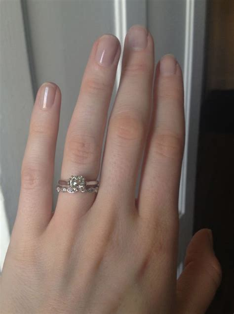 swing wedding band my berricle ring arrived tiffany swing ring inspired