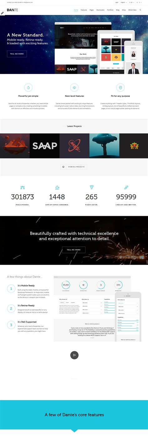 20 premium multipurpose wordpress themes