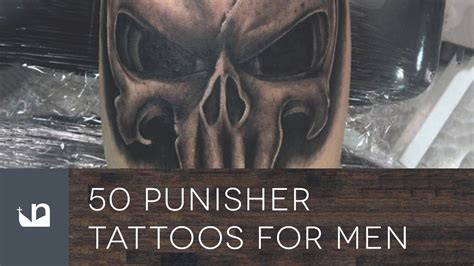 the punisher tattoo 50 punisher tattoos for