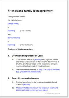 separation agreement template ireland documents business contract templates forms