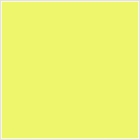 yellow canary color