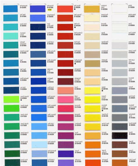 colour shades asian enamel paint color chart paint color ideas