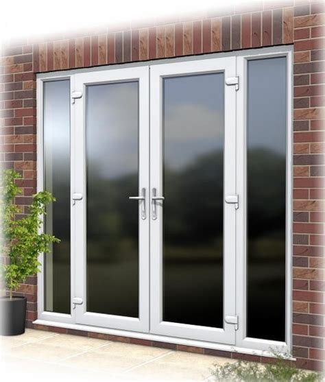 exterior doors with side panels patio doors with side panels images about desain patio