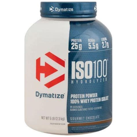 Whey Iso 100 dymatize iso 100 hydrolyzed 2 2kg 5 lb protein isolate