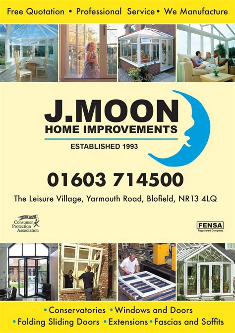 a leaflet of quot j moon home improvements quot by easidoor