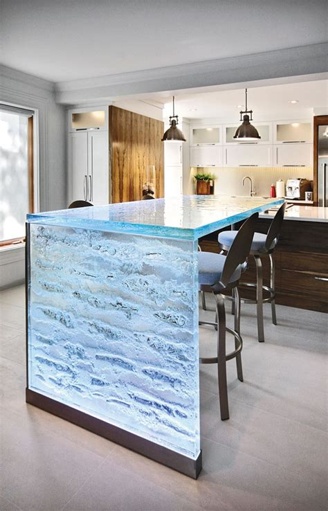 waterfall countertop waterfall kitchen countertops