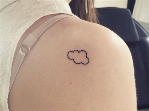 cloud tattoos 45 cool clouds shoulder tattoos