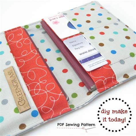 passport holder pattern sewing family passport holder pdf sewing pattern for 2 two