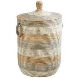 Isla natural seagrass laundry hamper pier 1 imports
