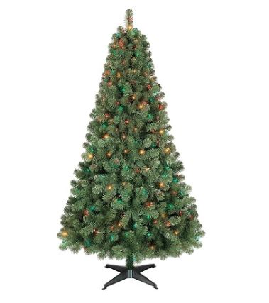 cvs christmas trees pre lit today only 6ft pre lit artificial tree alberta spruce just 30 00 savvy coupon